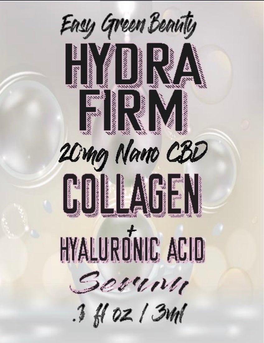 Hydrafirm- Collagen Nano CBD Serum