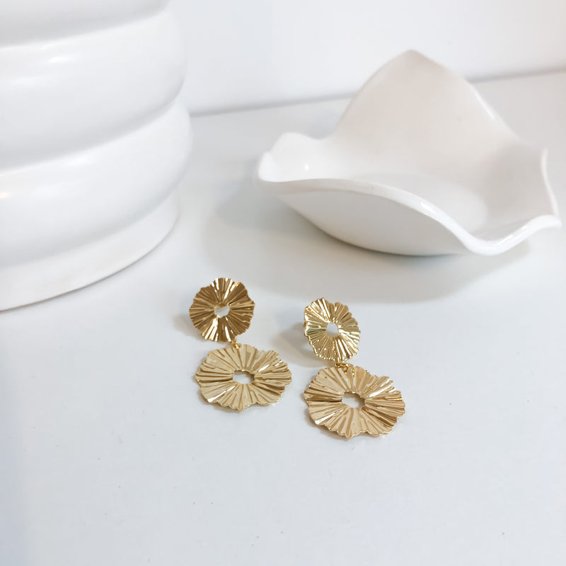 Statement Earrings | 18K Gold Cremorne Earrings