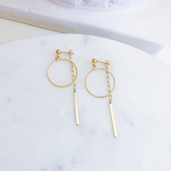 Morrison Front-To-Back Chain Drop Earrings