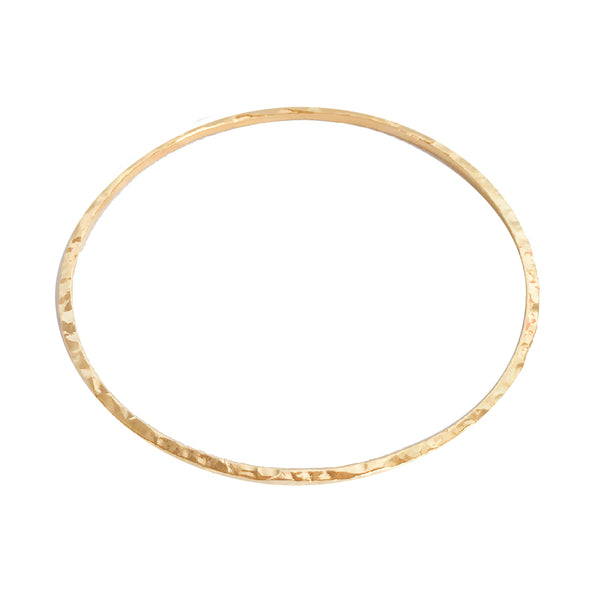 Gold Bangle | 24K Gold Ciara Fine Bangle