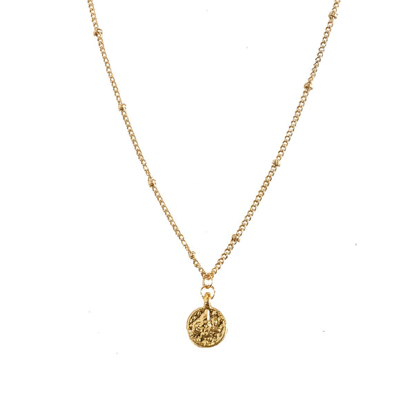 Fortuna Uno Coin Fine Chain Necklace