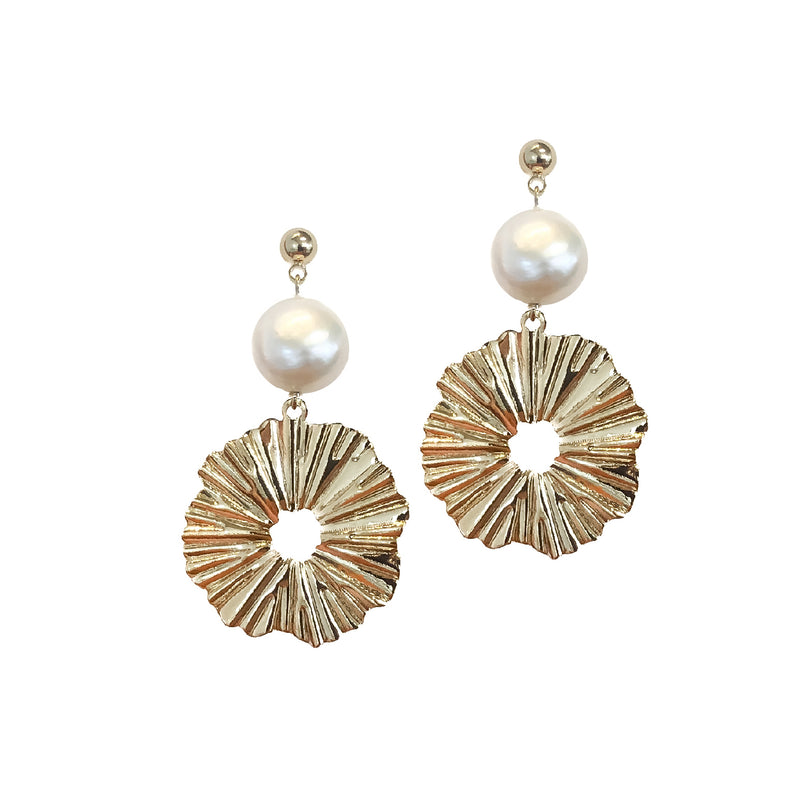 Drop Earrings | 24K Gold Kirribilli Earrings | Multiple Colour Options Available