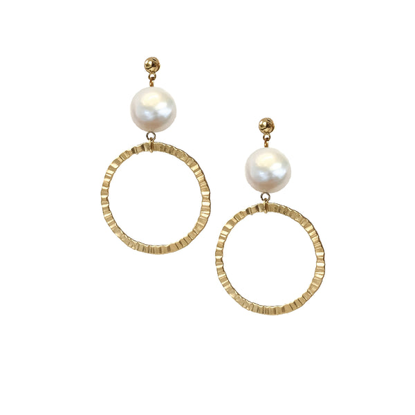 Drop Earrings | 24K Gold Mosman Earrings | Multiple Colour Options Available