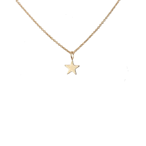 Olsen Gold Tiny Star Necklace