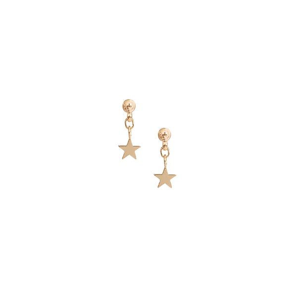 Stud Earrings | 18k Gold Olsen Tiny Star Stud Earrings