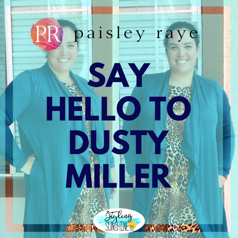 Paisley Raye Dusty Miller. Shop this style at StylingSunshineCo.com