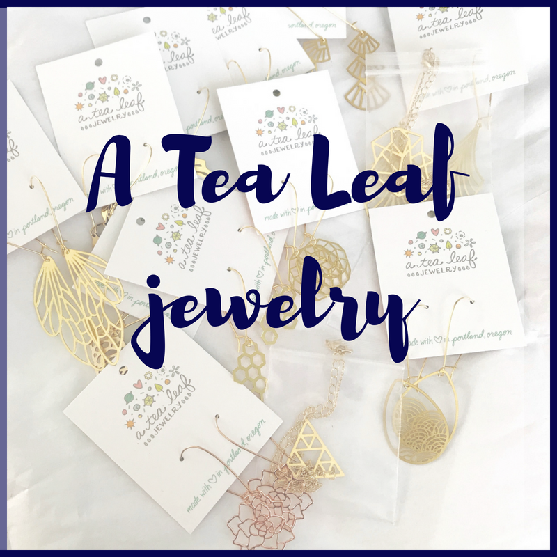 A Tea Leaf jewelry available at StylingSunshineCo.com