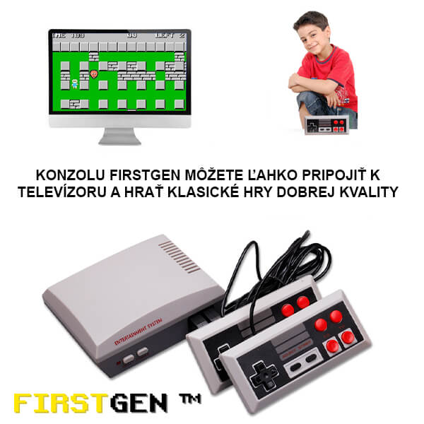 HERNÁ KONZOLA RETRO FIRSTGEN™