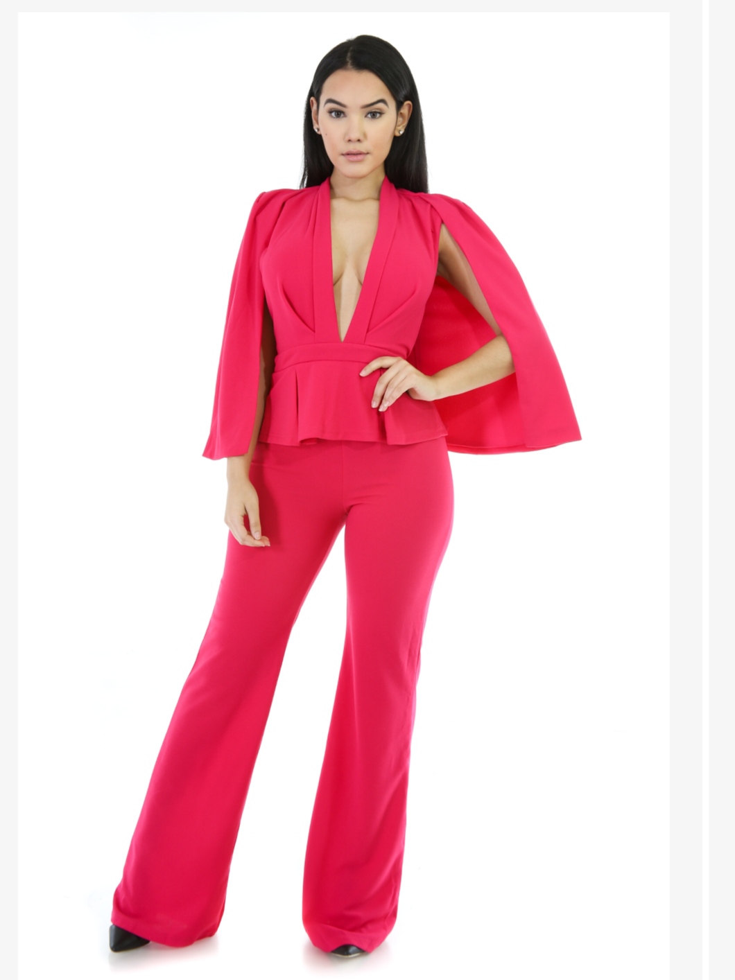 Pink Lady Jumpsuit
