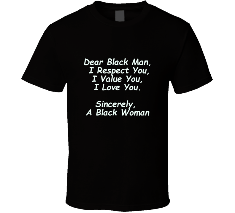 Black Man T Shirt