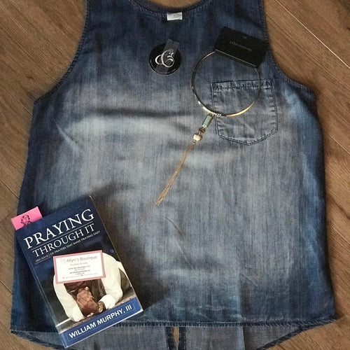 Sleeveless Denim