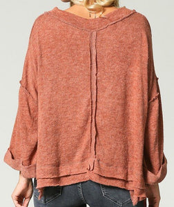 Ginger Crop Sweater