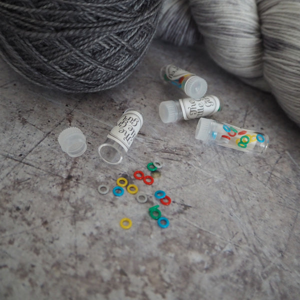 Rainbow Rubber Stitch Markers
