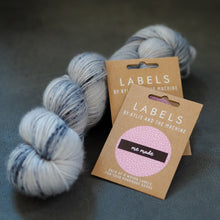 "Load image into Gallery viewer, Kylie and the Machine ""ME MADE"" Woven Labels 8 Pack - The Little Grey Girl"