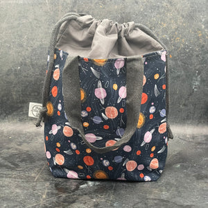 Rainbow Rubber Stitch Marker Set - Large - The Little Grey Girl