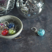 Load image into Gallery viewer, Christmas Glass Bauble Removeable Stitch Markers - The Little Grey Girl
