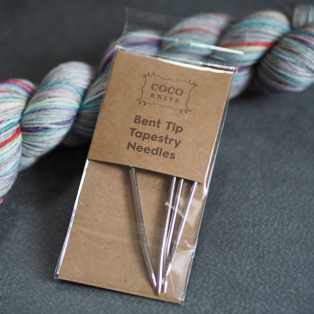 CocoKnits Bent Tip Tapestry Needles - The Little Grey Girl
