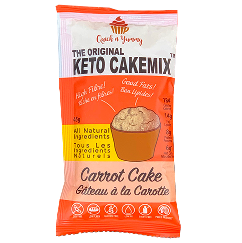 keto cake mix healthy dessert carrot cake