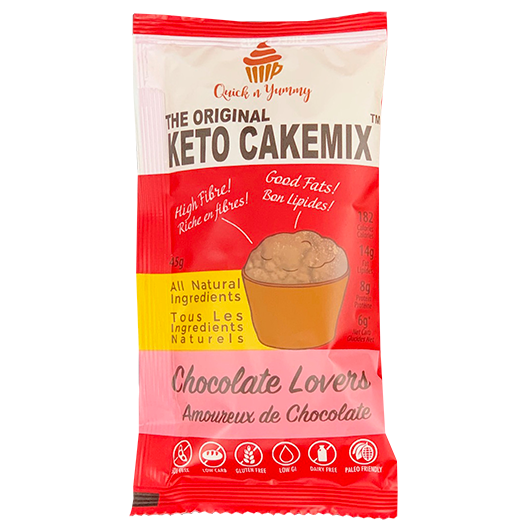 keto cake mix healthy dessert chocolate lovers