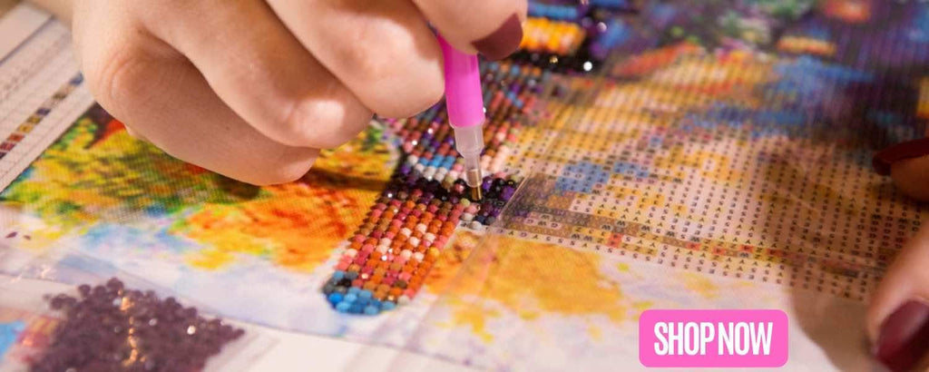 Top 5 Reasons to Paint with Diamonds