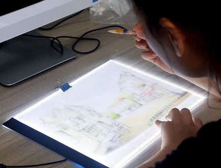 Ultra thin A4 LED Light Tablet Pad - Diamond Painting Just Got Easier & More Fun