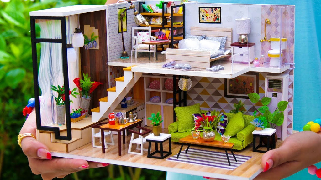 All About DIY Miniature Doll Houses