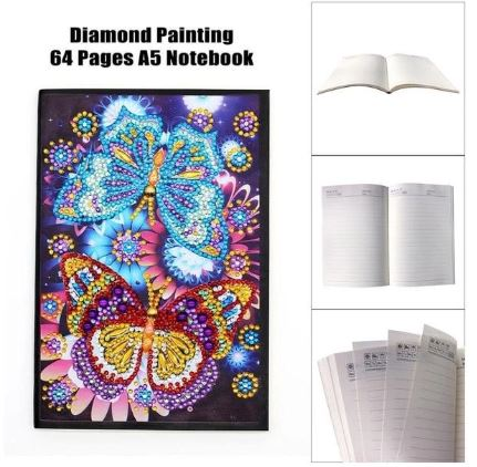 butterfly diamond painting notebook