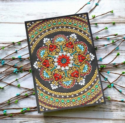 diamond painting diy notebooks