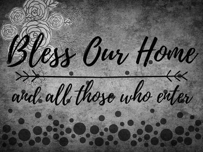 Bless Our Home - DIY Diamond  Painting