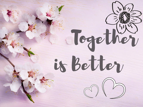 Image of together is better