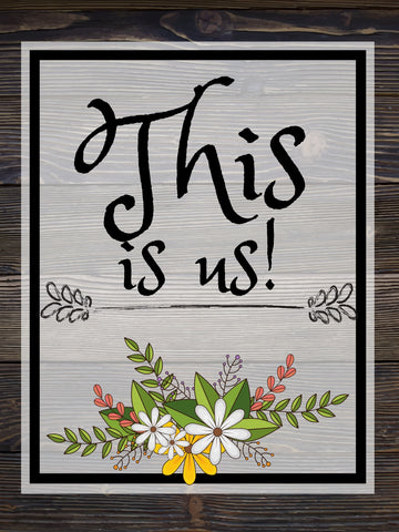 Image of This Is Us - DIY Diamond  Painting