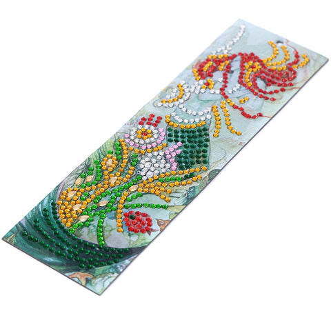 Image of Lovely Mermaid - Diamond Painting Bookmark