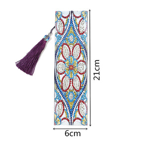 Blue Flower - Diamond Painting Bookmark