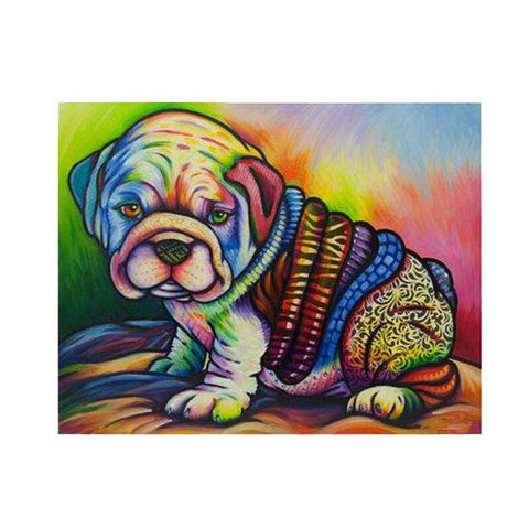 Image of Dog Pop Art #10 - DIY Diamond Painting