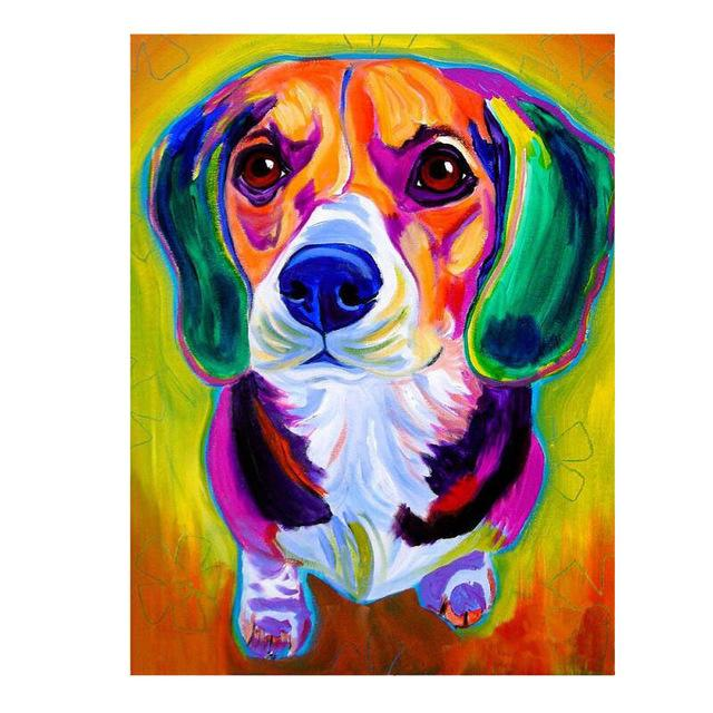 Dog Pop Art #13 - DIY Diamond Painting