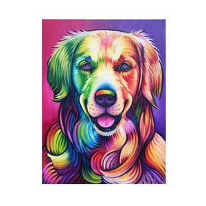 Dog Pop Art #2 - DIY Diamond Painting