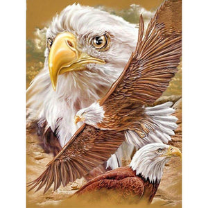 Fighting Eagle - DIY Diamond Painting