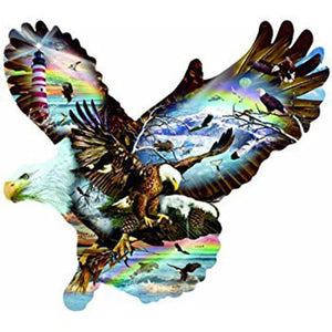 Eagle #8 - DIY Diamond  Painting