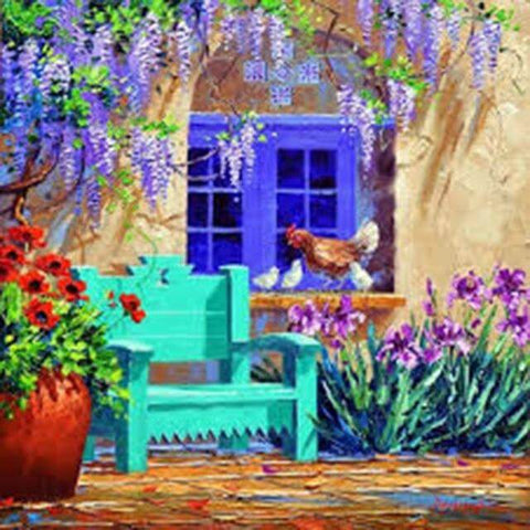 Image of Mediterranean landscape #4 - DIY Diamond Painting