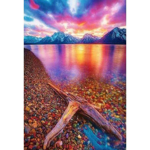 Image of Sunset Scenery #3 - DIY Diamond Painting