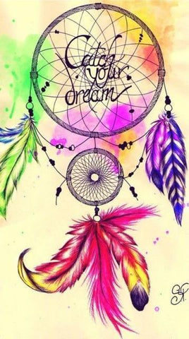 Image of Indian Dream catcher #3 - DIY Diamond Painting