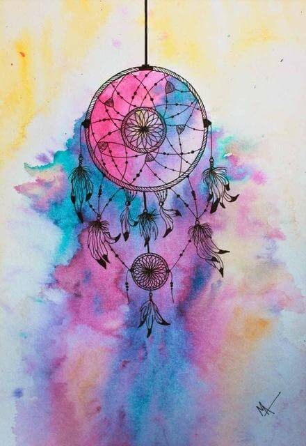 Indian Dream catcher #9 - DIY Diamond Painting