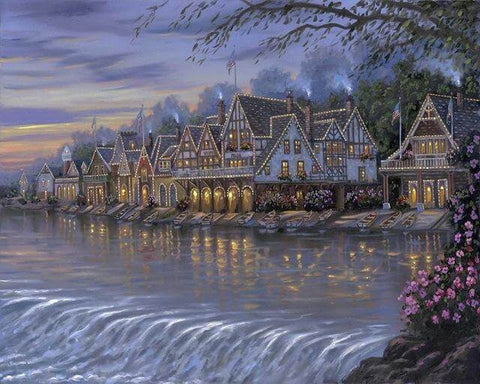 Image of Lake Side View #8 - DIY Diamond Painting