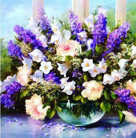 Image of Lavender flowers - DIY Diamond Painting