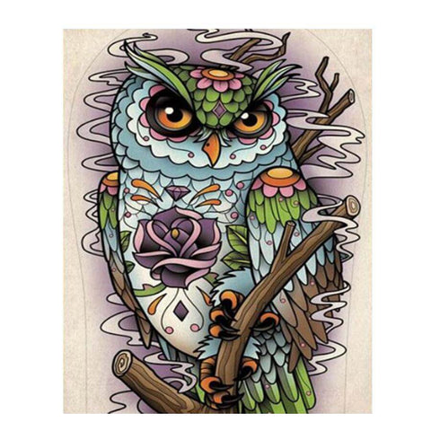 Image of Doodle Owl - DIY Diamond Painting