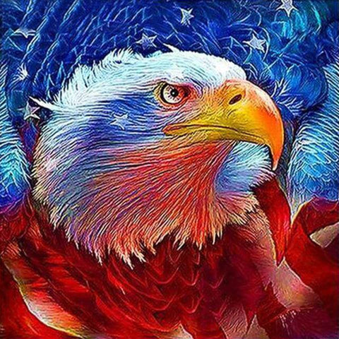 Image of Eagle #11 - DIY Diamond  Painting