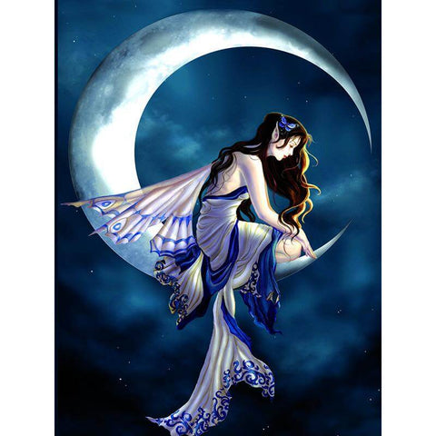 Image of Fairy Moon Goddess - DIY Diamond Painting