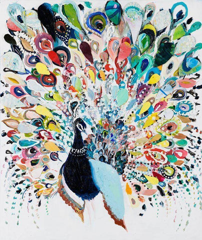 Image of Colourful Peacock - DIY Diamond Painting