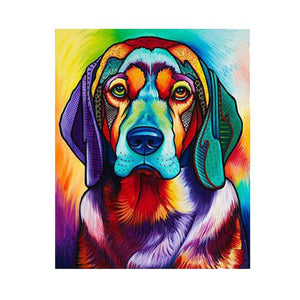 Dog Pop Art #6 - DIY Diamond Painting