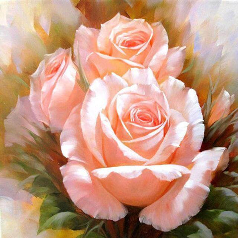 Image of Colorful Flower #12 - DIY Diamond Painting